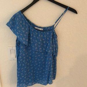Summery blue top